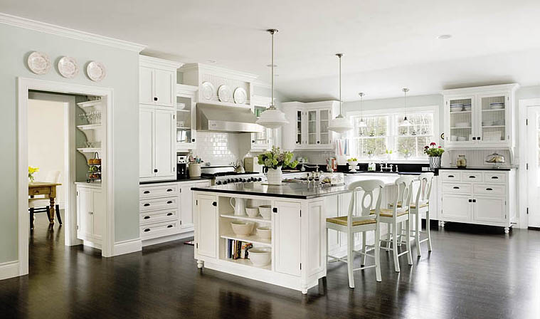 Бяла кухня... а защо не?